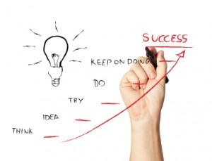 van idee naar succes